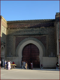 Gates of Meknes, Morocco