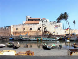 Elmina Castle, Port View