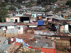 Slums in Soweto